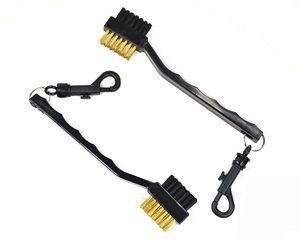 Cosmos pack of 2 Golf club cleaning brush with double sided