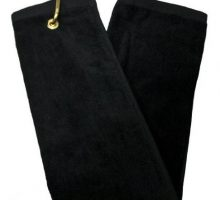 TriFold Towel  Black
