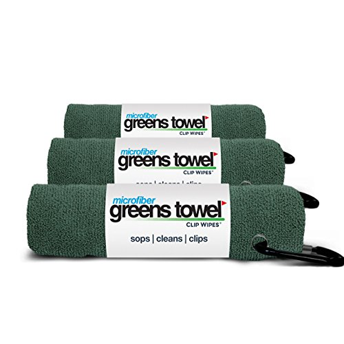 3 Pack of Pine Forest Microfiber Golf Towels