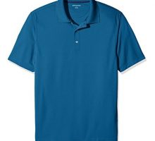 Amazon Essentials Men Quick Dry Golf Polo Shirt Inky Blue XL