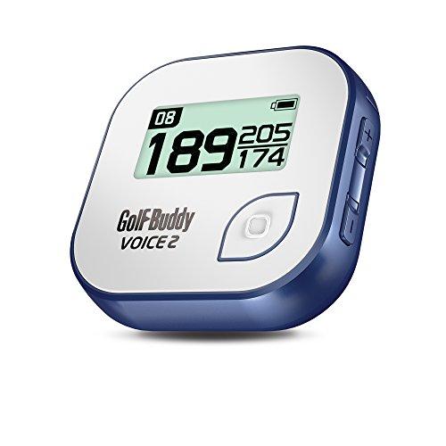 GolfBuddy Voice 2 Golf GPS Rangefinder White Blue