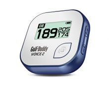 GolfBuddy Voice 2 Golf GPS Rangefinder White Blue