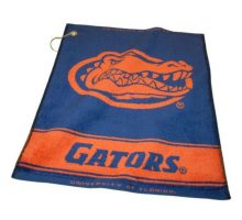 NCAA Florida Gators Jacquard Woven Golf Towel