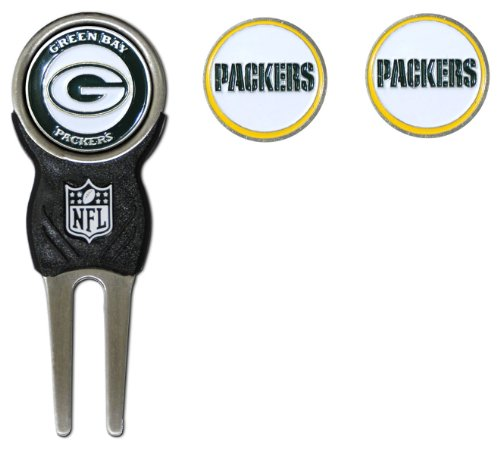 NFL Green Bay Packers Divot Tool Pack With 3 Golf Ball Markers