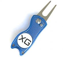 Xtreme Golf Divot Tool  Stainless Switchblade With Detachable Ball Marker