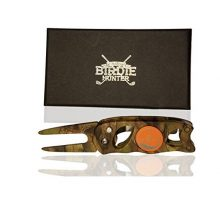 """The Birdie Hunter"" Camouflage Golf Divot Repair Tool and Ball Marker"