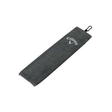 Callaway Tri Fold Towel Grey