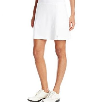 Callaway Women Golf Performance 17′ Knit Skort with Tummy Control Bright White Large