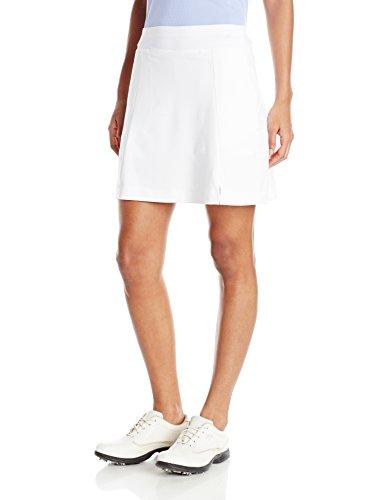 Callaway Women Golf Performance 17' Knit Skort with Tummy Control Bright White Medium