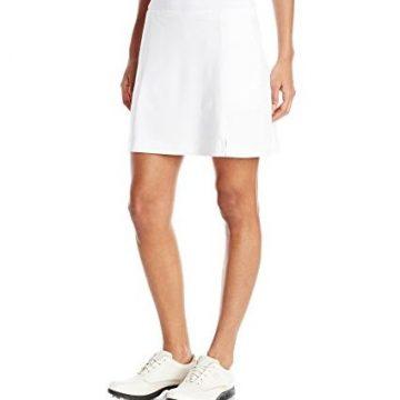 Callaway Women Golf Performance 17′ Knit Skort with Tummy Control Bright White Medium