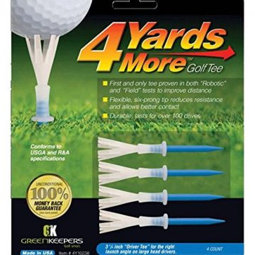 4 Yards More Golf Tee  3 1 4″ Driver