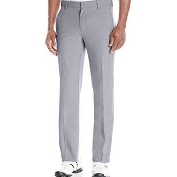 adidas Golf Men Climalite 3Stripes Pants Mid Grey Vista Grey S 36 x 32