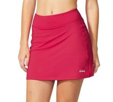Baleaf Women Active Athletic Skort Lightweight Skirt With Pockets For Running Tennis Golf Workout Red Size M