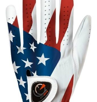 easyglove FLAG_USA2 Men Golf Glove