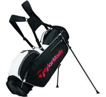 TaylorMade 2017 TM 50 Stand Golf Bag Black White Red