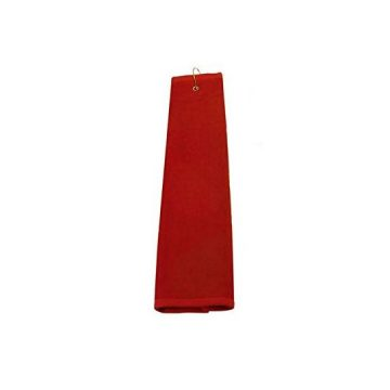 TriFold Towel  Red