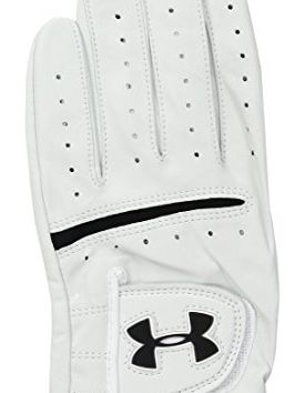 Under Armour Men Strikeskin Tour Golf Glove White White Left XLarge Cadet