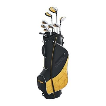 Wilson Golf Men 2017 Ultra Package Set Right Hand Black