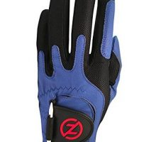 Zero Friction Men Golf Glove Left Hand One Size Blue