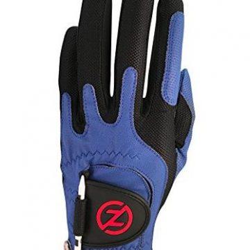 Zero Friction Men Golf Glove Left Hand One Size Blue