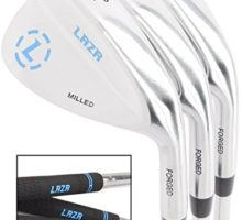LAZR Premium Golf Wedge Set 52 56 60 Degree 3 Forged Golf Club Wedges For Men