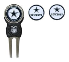 NFL Dallas Cowboys Divot Tool Pack With 3 Golf Ball Markers