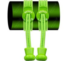 AKTIVX SPORTS Tie Shoe Laces For Golf Shoes – Voted The 1 Golf Gift Of 2016 – Top Golf accessories For Golfers – Replacement Golfing Shoelaces & Golf Equipment Neon Green