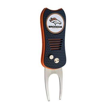 NFL Denver Broncos Switchfix Divot Tool