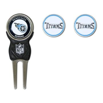 NFL Tennessee Titans Divot Tool Pack With 3 Golf Ball Markers