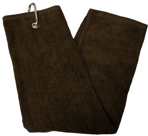 TriFold Towel  Chocolate