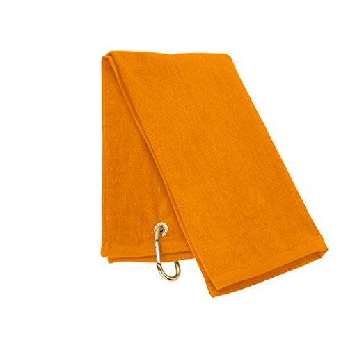 TriFold Towel  Orange