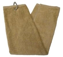 TriFold Towel  Tan