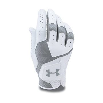 Under Armour Men CoolSwitch Golf Glove White Steel Left Large Cadet