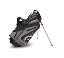 Callaway Golf 2017 Capital Stand Bag Black Charcoal Orange