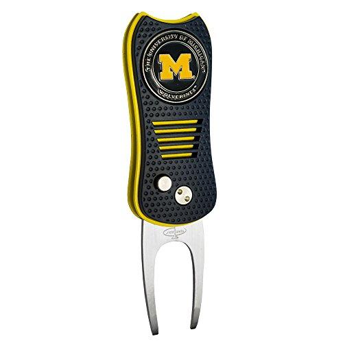 NCAA Michigan Wolverines Switchfix Divot Tool