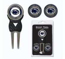 NCAA Penn State Nittany Lions Divot Tool Pack With 3 Golf Ball Markers