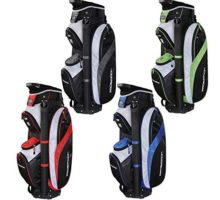 Prosimmon Tour 14 Way Cart Golf Bag Black Red