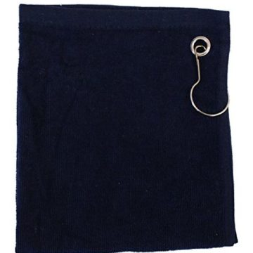 Set of 5 Cotton Terry Golf Towels