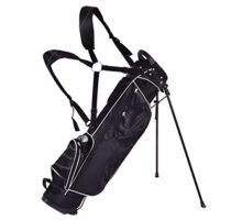 Tangkula Golf Bag w  4 Way Divider Stand Cart Bag