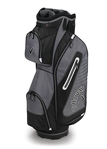 Callaway Golf 2017 Capital Cart Bag Black White