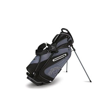 Callaway Golf 2017 Capital Stand Bag Black White