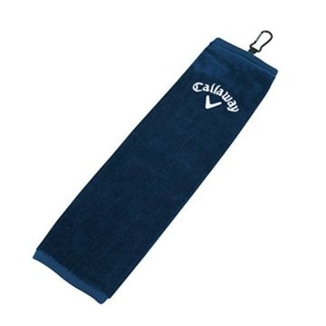 Callaway TriFold Towel Navy