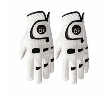 Men's Golf Glove Left Hand Right with Ball Marker Value 2 Pack Weathersof Grip Soft Comfortable Fit Size Small Medium ML Large XL By Finger Ten