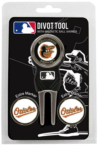 MLB Houston Astros Divot Tool Pack With 3 Golf Ball Markers