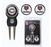 NFL Chicago Bears Divot Tool Pack With 3 Golf Ball Markers
