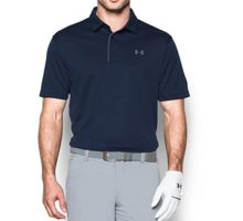 Under Armour Men Tech Polo Midnight Navy