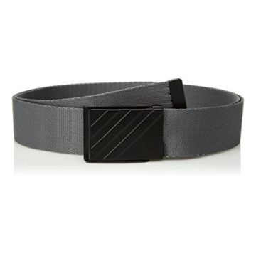 adidas Golf Men Webbing Belt Grey Four One Size