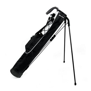 Knight Pitch and Putt Golf Lightweight Stand Carry Bag Black