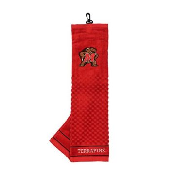 NCAA Maryland Terrapins Embroidered Golf Towel