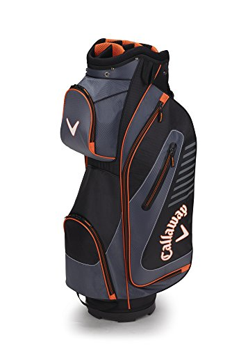 Callaway Golf 2017 Capital Cart Bag Black Charcoal Orange